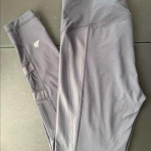 Free2B by Free Country charcoal gray yoga leggings